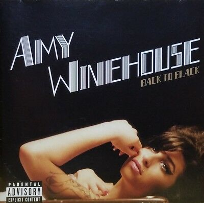 AMY WINEHOUSE Back to Black [PA] CD 2006 EXCELLENT / MINT CONDITION / FREE SHIP