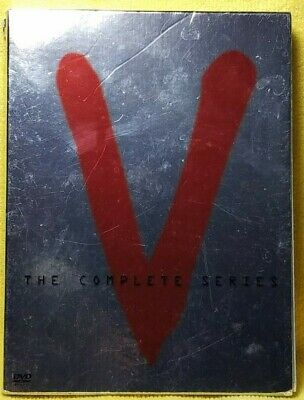 V - The Complete Series 3 DVD SET      VERY GOOD CONDITION 2004 FREE SHIPPING