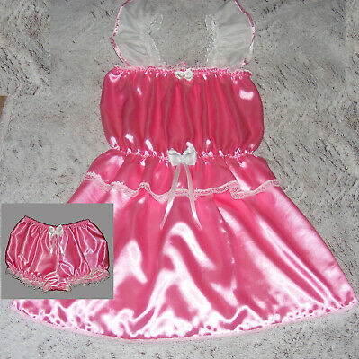 Adult Baby Kleid Zofe  sissy maid Travestie TV Gr.XL