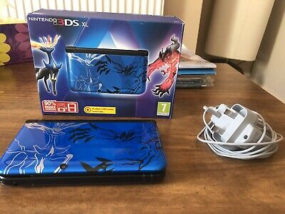 NINTENDO 3DS XL Pokemon X & Y Blue Edition With Luma CFW Sys Firmware  9 2 0-20E