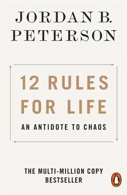 12 Rules for Life by Jordan B. Peterson An Antidote to Chaos (Paperback 2019)