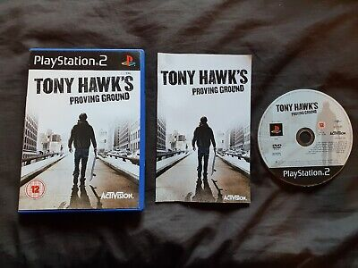 TONY HAWK'S PROVING GROUND Sony Playstation 2 Game PS2