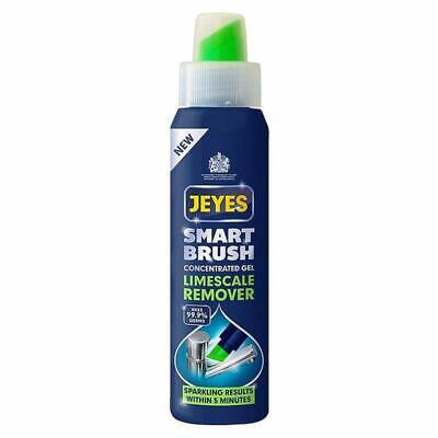 Jeyes Limescale Remover Concentrate Gel Cleaner 300ml Brush Kills Germs Bathroom
