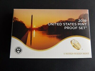 2019 S United States Mint Proof Set 10 Coin (No Extra W Cent)