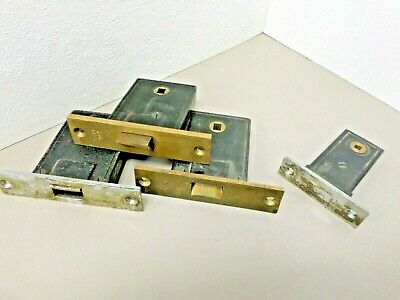 4 Vintage Yale Mortise Lock Cases for Parts or Repair