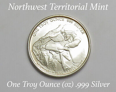 Northwest Territorial Mint Pan American Silver 1 Troy Ounce Oz .999 Fine Silver