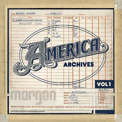 America - Archives, Vol. 1 CD 2019