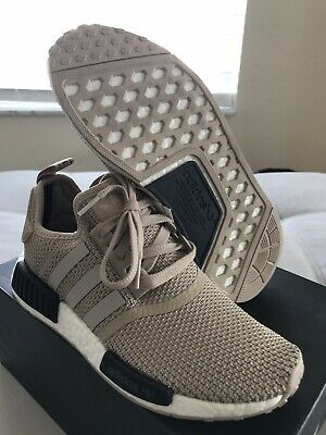 09d106f3 Adidas NMD R1 AC8503 Womens US 7 Euro Release ONLY! Talc Tan 100% Authentic