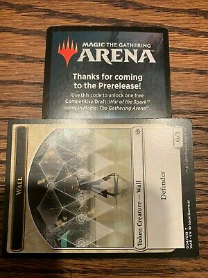 MTG Arena War of the Spark Pre-release Competitive Draft Code (Magic Gathering)