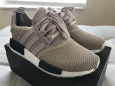 6b0a1c826 Adidas NMD R1 AC8503 Womens US 6.5 Euro Release ONLY!Talc Tan 100% Authentic