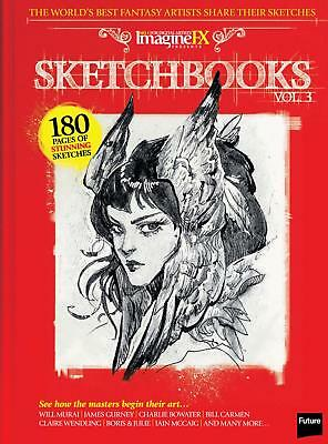 IMAGINE FX SKETCHBOOKS Volume 3 Magazine 180 Pages INSPIRATIONAL FANTASY ART NEW