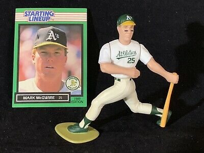 MARK MCGWIRE 1989  STARTING LINEUP SLU OPEN LOOSE OAKLAND A/'S CARD