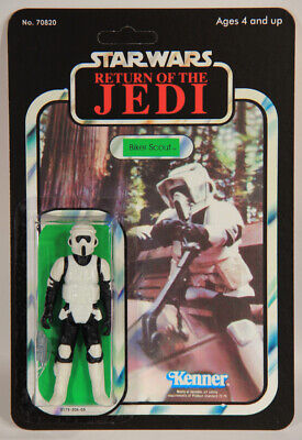 L010507 Star Wars ROTJ / Custom Card / 1983 / Action Figure / Biker Scout