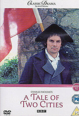 Charles Dicken's A Tale of Two Cities (1980) CERT PG DVD Paul Shelley BBC Drama