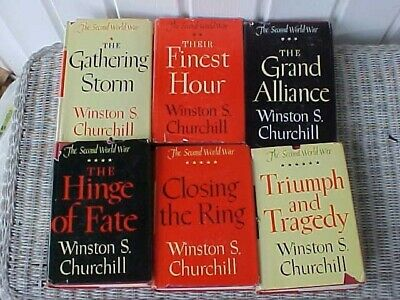 Winston Churchill The Second World War Six Volumes Wwii History #87118