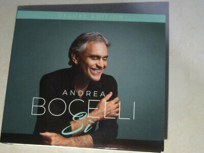Andrea Bocelli Si Deluxe Edition Target Exclusive 2018 CD Josh Groban (Audio CD)
