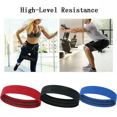 Fitness Equipments Hip Resistance Band Stretch Strap Ring Shape Latex Polyester Elastic Belts Yoga Deep Squat Stretching Training Body Building Acc Bracing Up The Whole System And Strengthening It