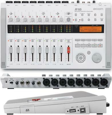 Zoom R16 Multi-Track Recorder & Mixer, Computer Interface & Controller Mac & Win