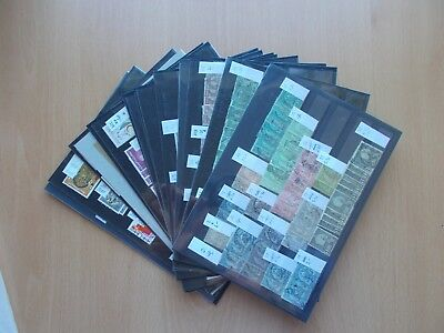 Tunisia - Used & mint duplicated collection on stockcards. See pics.