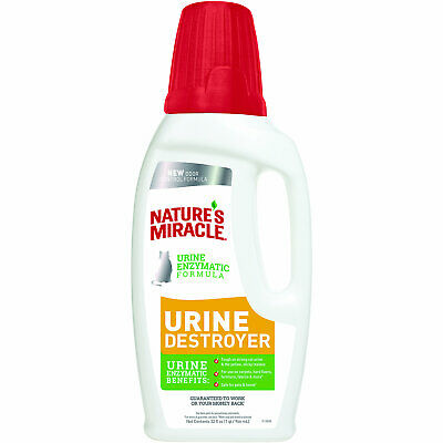 Nature's Miracle New Formula Just for Cats Urine Destroyer Stain & Residue