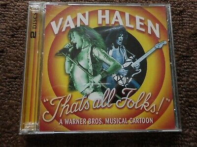 "Van Halen ""Thats All Folks"" 2 Cd Set Rare Songs & Demo's"