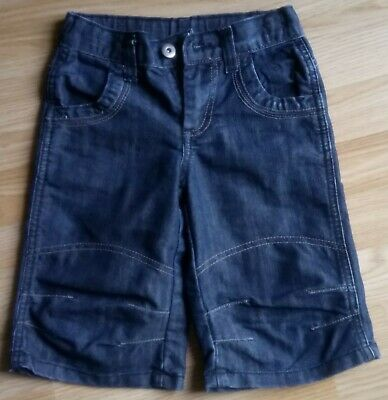 Boys Jeans Shorts Blue Size 4-5 years Matalan