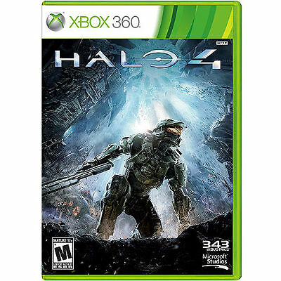 Halo 4 (Microsoft Xbox 360, 2012)  COMPLETE   343 INDUSTRIES  FAST SHIPPING