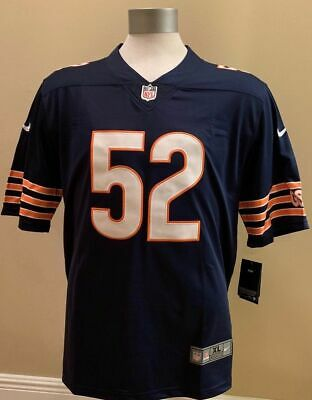 f83a5feb787 BRAND NEW STITCHED Khalil Mack Chicago Bears Men's Jersey Blue M-2XL ...