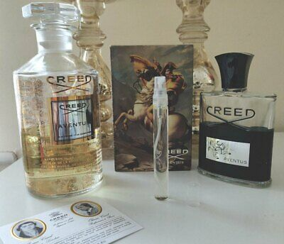 Creed Aventus 10ml - Eau De Parfum 10ml bottle get more than 5ml
