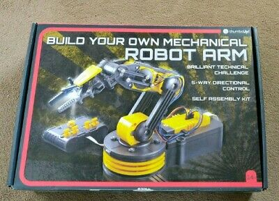 Robotic Robot Arm Kit - 5 Way Wired Control - STEM subject learning.