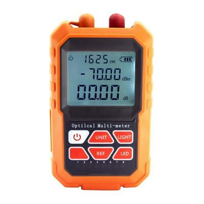 Mini Portable Optical Fiber Power Meter Tester For Communication Detection
