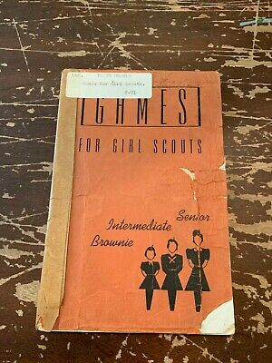 Vintage Copyright 1942 Girl Scouts Games For Girl Scouts Booklet