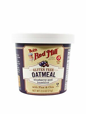 Bobs Red Mill Blueberry Hazelnut Oatmeal Cup (2 Packs)