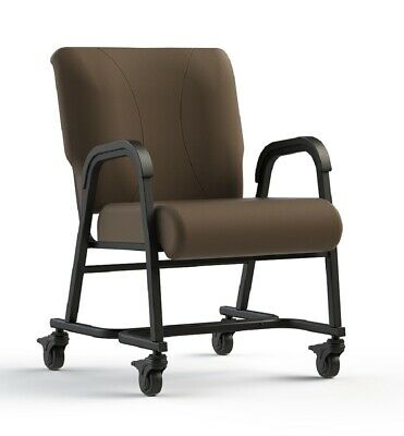 "NEW Comfortek Titan Castered JAVA 20"" Seat Rolling Chair"
