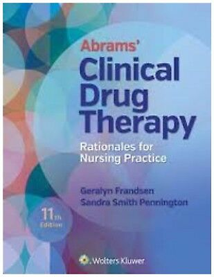 {ebook} Abrams' Clinical Drug Therapy: Rationales for Nursing Practice 11th Ed.