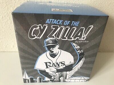 2019 Tampa Bay Rays Baseball Cy Zilla Blake Snell BOBBLEHEAD from game 3/30/19
