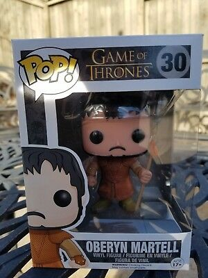 Funko Pop! Game of Thrones #30 Oberyn Martell, HBO Edition, Vinyl GoT NEW