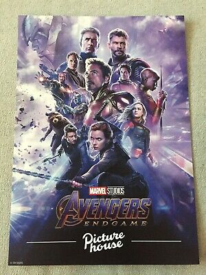 Marvel Studios Avengers Endgame Movie Poster Card 21cm X 29.5cm