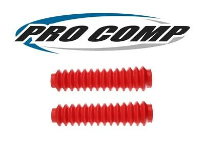 Pro Comp Red Poly-Vinyl Shock Boots - Sold as Pair  # 12128