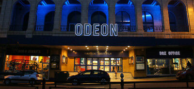 10 x Odeon ADULT/child Cinema Tickets. All of UK and Ireland. Any Film,Any Time