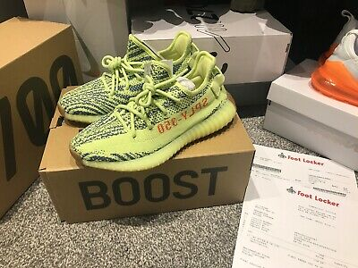YEEZY BOOST 350 V2 Frozen Yellow Size 6.5 Brand New With