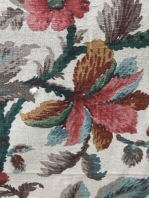 """French Vintage Indienne Toile New Old Stock 1.2 X .5m. 48""""/22"""""""