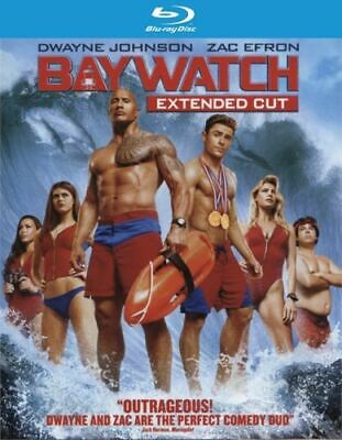 Baywatch (Blu-ray Disc ONLY, 2017) Bilingual Free Shipping In Canada