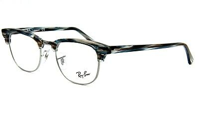 51344e0494 New Ray-Ban Rb 5154 5750 Blue Eyeglasses Frame Authentic Rx Rb5154 49-21
