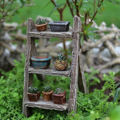 Miniature Dollhouse Fairy Garden Plant Ladder - Buy 3 Save $5