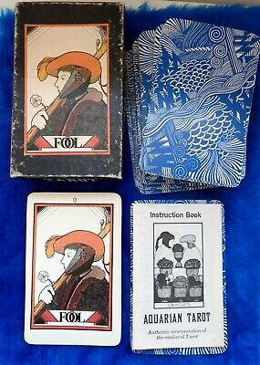 VINTAGE TAROT OF The Cat People 1985 Full Color Deck 78