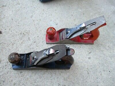 Two old British made Macrome wood planes