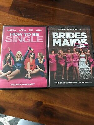 Bridesmaids & How To Be Single Dvd's