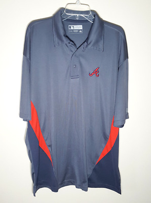 10a628d129f ATLANTA BRAVES UNDER Armour Hoodie NWT Cold Gear (thinner) Dk Grey ...