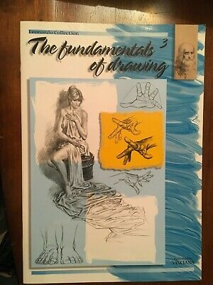 """FUNDAMENTALS OF DRAWING, ARTIST PAINTING FULL COLOR, w/diagrams, Learn 2 Draw"